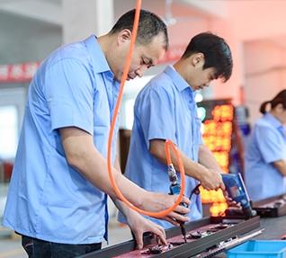 龙门焊接机焊接方法